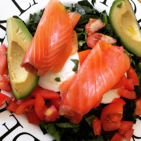 Smoked Salmon lunch