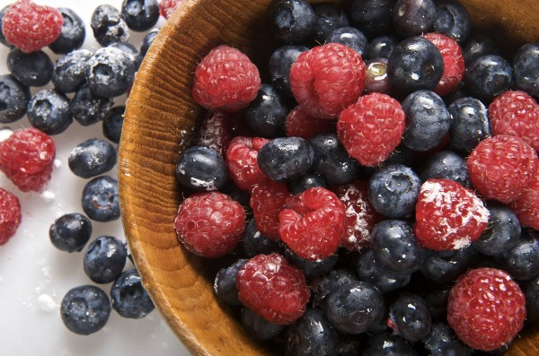 berries brain food